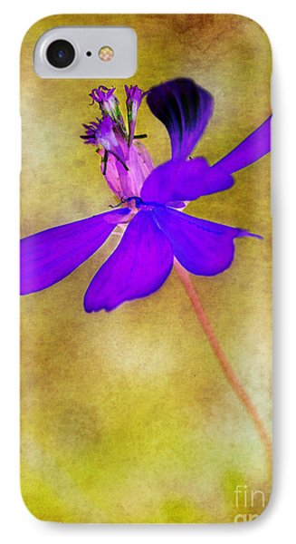 Flower Take Flight Phone Case by Judi Bagwell