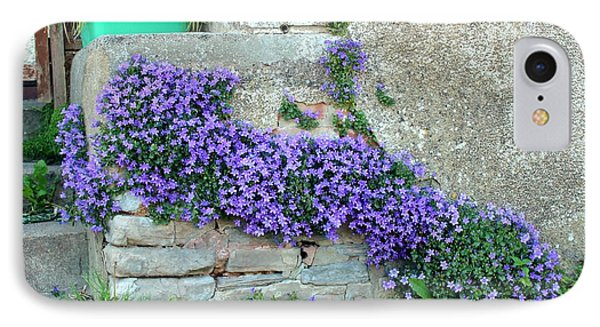 Flowered Steps Phone Case by Rene Triay Photography