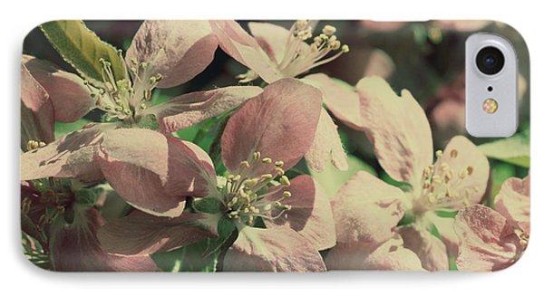 Flowering Crabapple Muted Phone Case by Mark J Seefeldt
