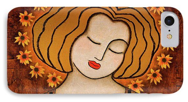 IPhone Case featuring the painting Flowering Intuition by Gloria Rothrock