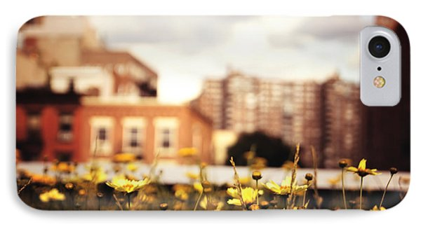 Flowers - High Line Park - New York City IPhone 7 Case by Vivienne Gucwa