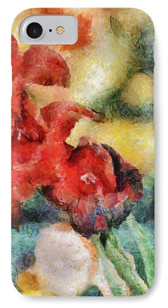 Flowers For Cynthia Phone Case by Trish Tritz