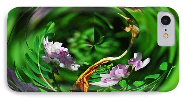 Flowers Gone Wild IPhone Case by Cindy Manero