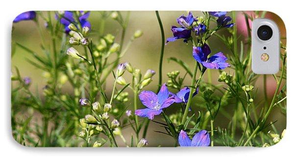 Flowers Of Summer IPhone Case by Robin Regan