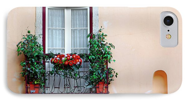 Flowery Balcony Phone Case by Carlos Caetano