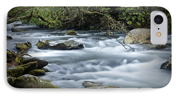 Flowing Stream In The Smokey Mountains No.312 IPhone Case