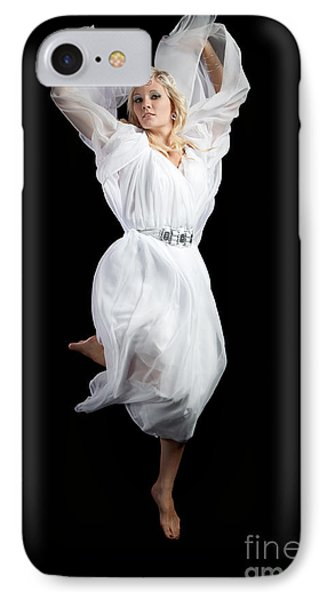 Flying Angel IPhone Case by Cindy Singleton