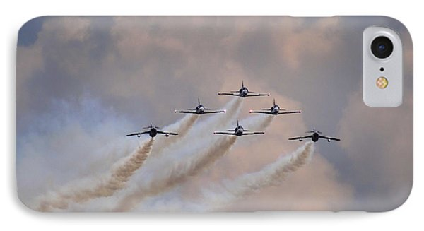 IPhone Case featuring the photograph Flying In Formation by Julia Wilcox