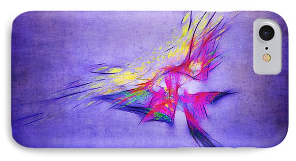Flying Into The Sun Phone Case by Judi Bagwell