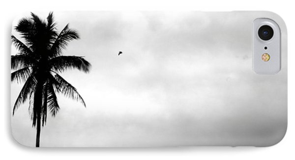 Flying-off From Palm Tree Phone Case by Rosvin Des Bouillons
