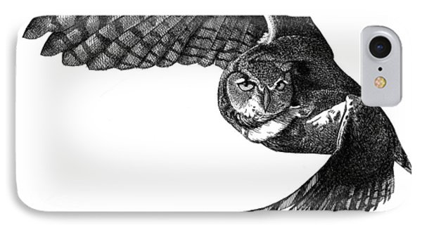 Flying Owl IPhone Case