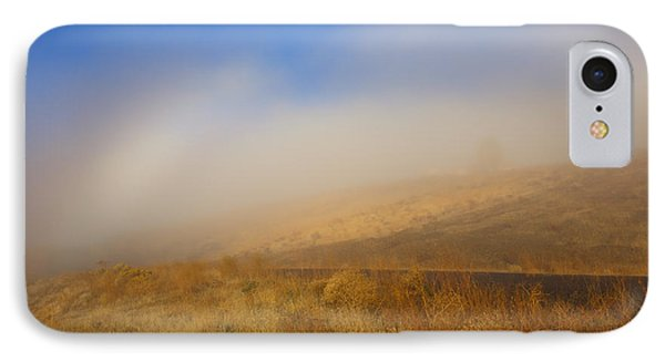 Fog Bow At Lookout Point Phone Case by Mike  Dawson
