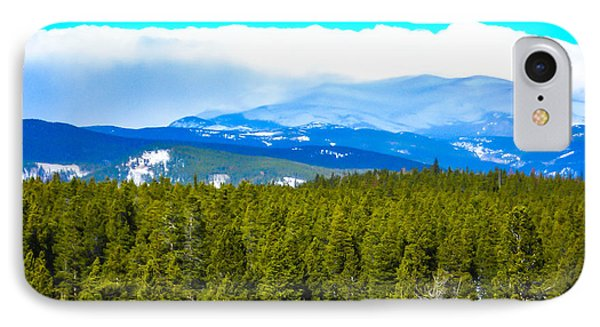IPhone Case featuring the photograph Fog In The Rockies by Shannon Harrington