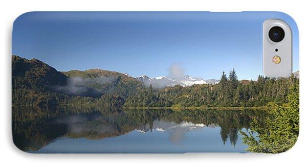 Fog Over Shrode Lake II Phone Case by Gloria & Richard Maschmeyer