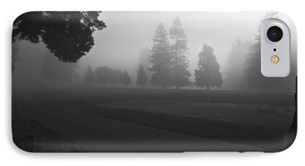 IPhone Case featuring the photograph Foggy Fairway by Lennie Green
