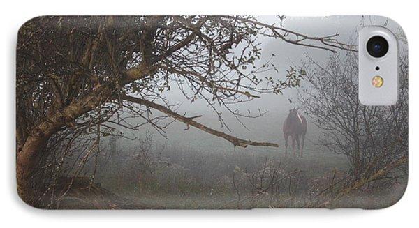 Foggy Horse IPhone Case