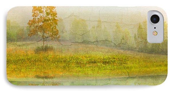 Foggy Meadow Phone Case by Debra and Dave Vanderlaan