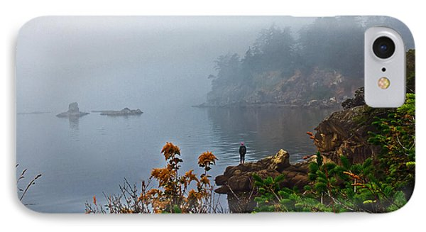 Foggy Morning Phone Case by Robert Bales