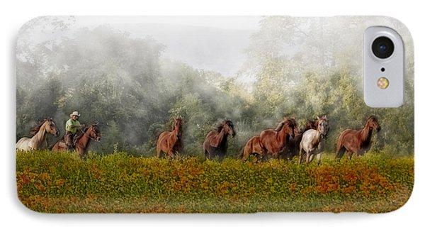 Foggy Morning Phone Case by Susan Candelario