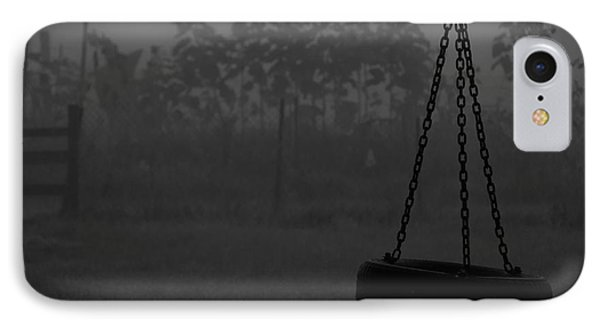 IPhone Case featuring the photograph Foggy Playground by Cheryl Baxter