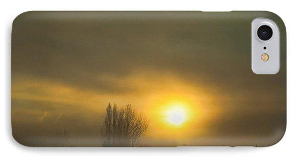 Foggy Sunrise IPhone Case