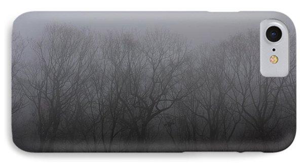 Foggy Treeline Phone Case by Lee Dos Santos