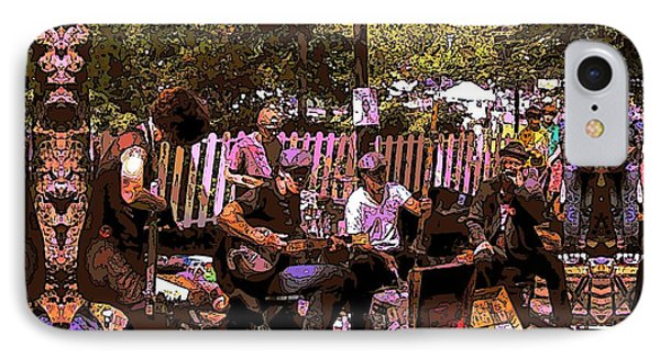 Folklife Buskers IPhone Case by Tim Allen
