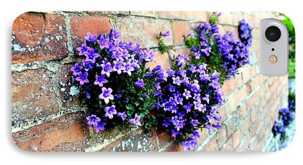 Follow The Flower Brick Wall Phone Case by Rene Triay Photography