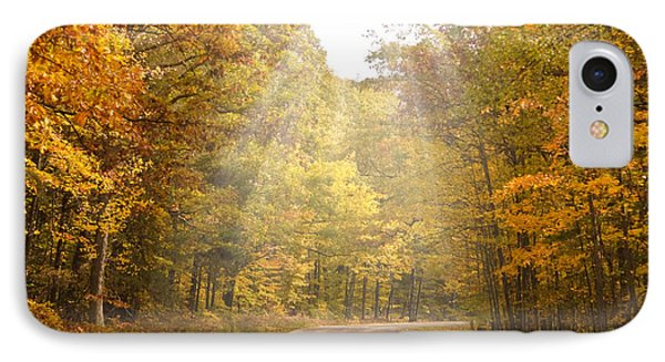 Follow The Light IPhone Case by Cindy Haggerty