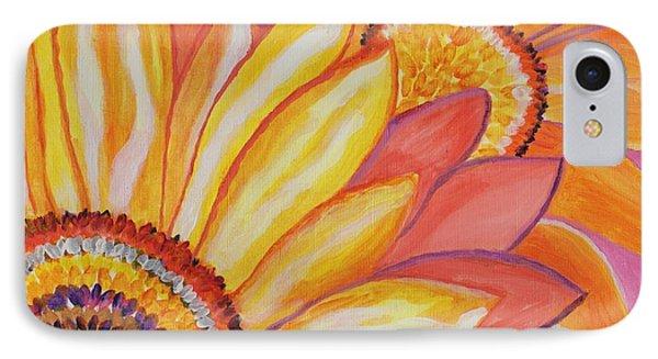 Follow The Sun Phone Case by Connie Valasco