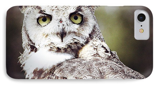 Followed Owl Phone Case by Empty Wall