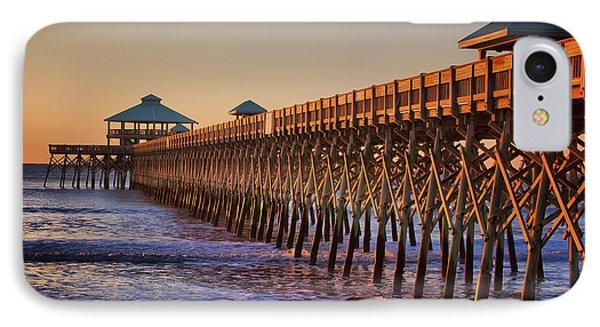 Folly Beach Pier IPhone Case