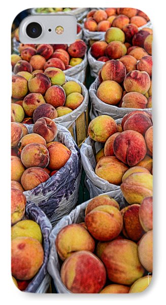 Food - Harvested Peaches Phone Case by Paul Ward