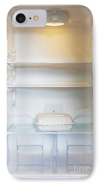 Food Container In A Refrigerator Phone Case by Inti St. Clair