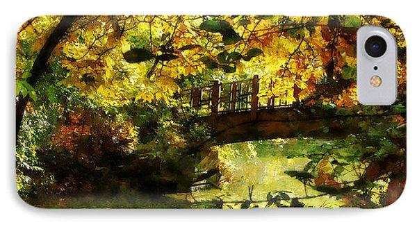 Foot Bridge Phone Case by Susan Savad