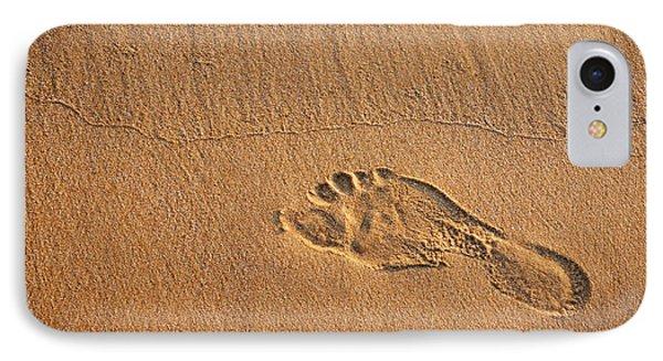 Foot Print Phone Case by Carlos Caetano