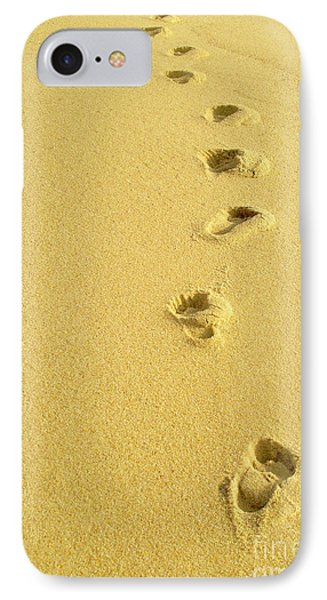 Foot Prints Phone Case by Carlos Caetano