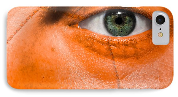 Football Scars Phone Case by Semmick Photo