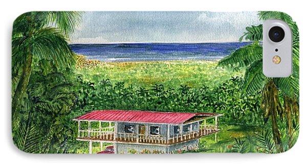 Foothills Of El Yunque Puerto Rico IPhone Case by Frank Hunter