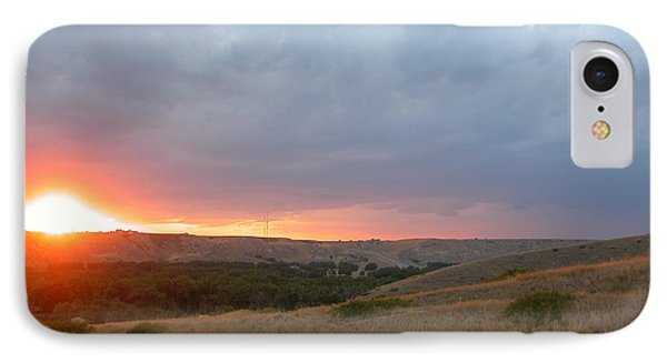 Foothills Sunset IPhone Case by Stuart Turnbull