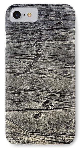 Footprints IPhone Case by Joana Kruse