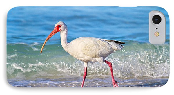 Ibis iPhone 7 Case - For The Birds by Betsy Knapp