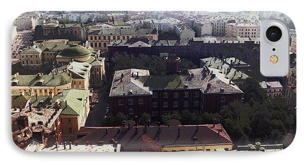 forbidden view over Moscow Phone Case by Nafets Nuarb