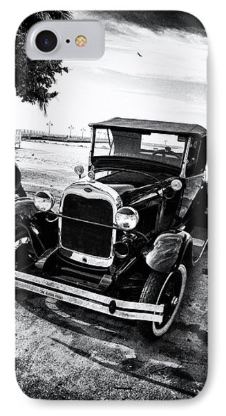 Ford Model T Film Noir Phone Case by Bill Cannon