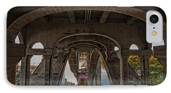 IPhone Case featuring the photograph Ford Parkway Bridge by Tom Gort