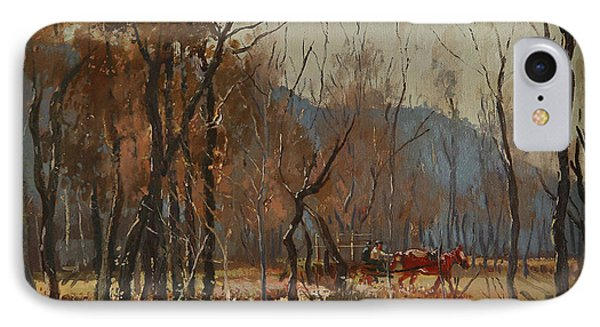 Forest By Shkumbini River  IPhone Case