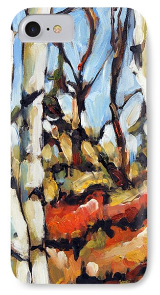 Forest Edge By Prankearts Phone Case by Richard T Pranke