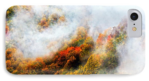 Forest In Veil Of Mists Phone Case by Evgeni Dinev