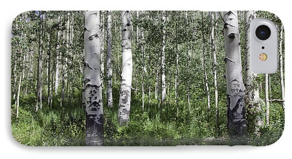 Forever Aspen Trees Phone Case by Madeline Ellis