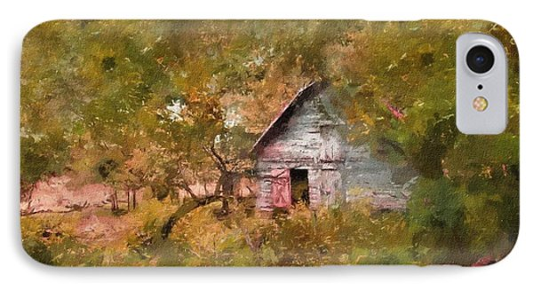 Forgotten Cottage From Yesteryear IPhone Case by Georgiana Romanovna